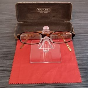 Coach Shelby 510 Tortoise Frame Eyewear Glasses